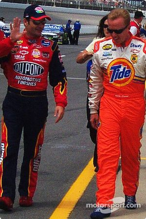 Jeff Gordon et Ricky Craven