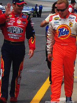 Jeff Gordon et Ricky Craven