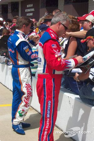 Ricky Rudd and Terry Labonte