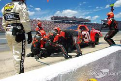 Le crash du premier tour de Robby Gordon