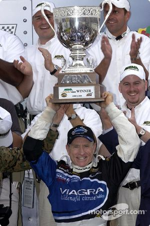 Race winner Mark Martin