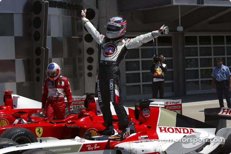 Sa meilleure performance en Formule 1