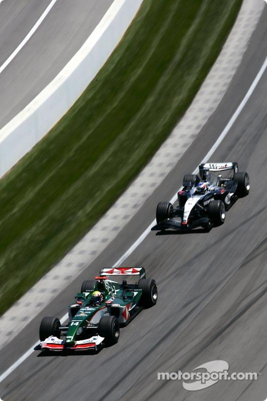 Mark Webber et Kimi Raikkonen