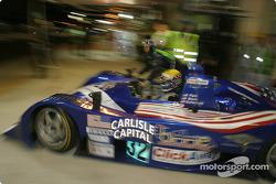 #32 Intersport Racing Lola Judd: Clint Field, William Binnie, Rick Sutherland goes back out