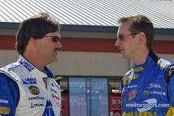 Kurt Busch et Jim Inglebright