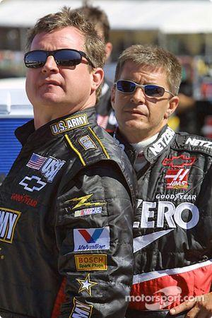 Joe Nemechek et Ward Burton