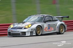 #43 BAM! Porsche 911 GT3 RSR: Leo Hindery, Peter Baron