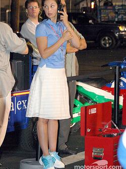 Ashley Judd must be talking to Dario