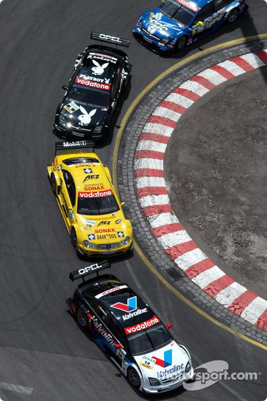 Peter Dumbreck, OPC Team Phoenix, Opel Vectra GTS V8 2004; Jarek Janis, Team Rosberg, AMG-Mercedes C