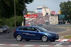 Parade Audi : la nouvelle Audi A3 Sportback au Norisring