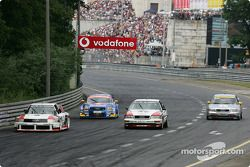 Parade Audi : Audi 90 IMSA-GTO, Abt-Audi TT-R, Audi V8 Quattro et Audi A4 Quattro
