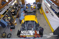 Le garage Corvette Racing