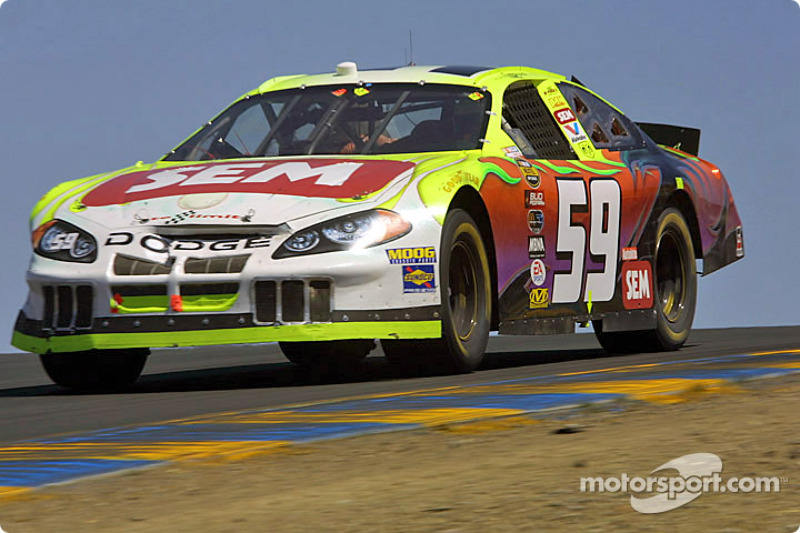 Klaus Graf, der letzte NASCAR-Deutsche