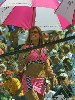 Une charmante Umbrella Girl