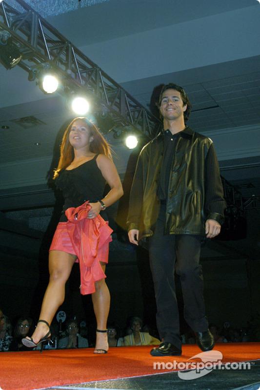 Bruno Junqueira and sister Diana