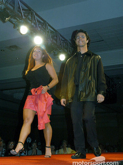 Bruno Junqueira and sister Diana