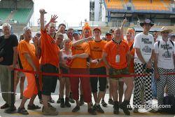 Le fan club du Racing for Holland
