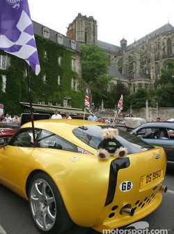 TVR on display at the parade