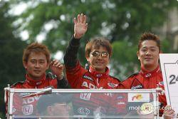 Ryo Fukuda, Hiroki Katoh et Ryo Michigami
