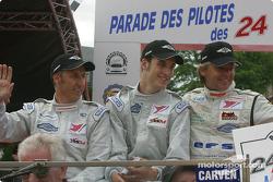 Adam Sharpe, Steve Hyde et Neil Cunningham