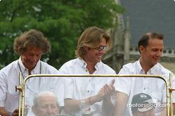 Alexander Frei, Sam Hancock et Jean-Marc Gounon