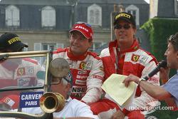 John Bosch, Thomas Biagi et Danny Sullivan