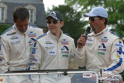 Christian Lavieille, Philippe Almeras et Luc Alphand