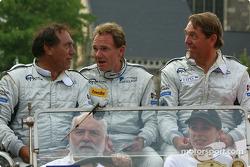 Rob Wilson, Franck Mountain et Hans Hugenholtz