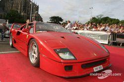 Exotic cars parade: Ferrari F40
