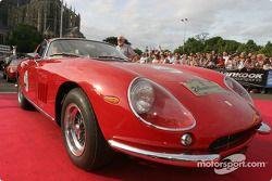 Exotic cars parade: Ferrari 250GT