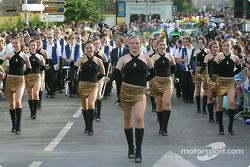 Majorettes back at the starting point