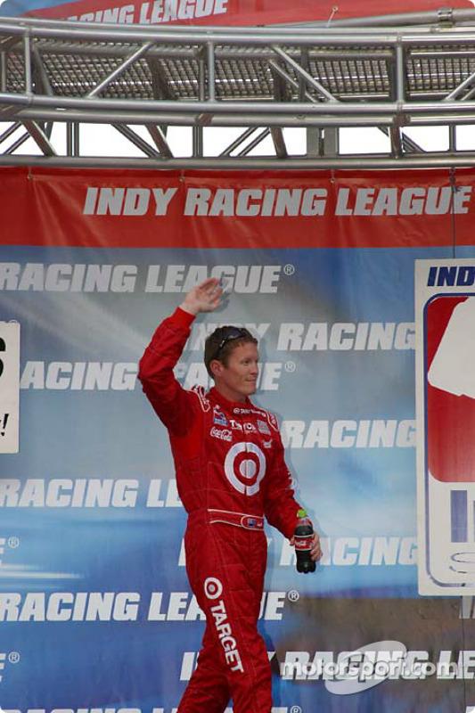 Le Champion IRL en titre Scott Dixon