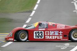 #133 1989 Porsche 962C: Jim Graham