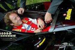Cristiano da Matta retrouve sa Lola Toyota B2/200 Champ Car de 2002 de l'équipe Newman/Haas