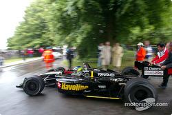 Cristiano da Matta drives his 2002 Newman Haas Lola Toyota B2/200 Champ Car