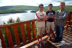 Jordan drivers training and relaxation, Hotel Sacacomie, Lake Sacacomie, Québec, Canada: Giorgio Pan
