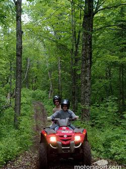 Jordan drivers training and relaxation, Hotel Sacacomie, Lake Sacacomie, Québec, Canada: Nick Heidfe