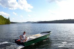 Jordan drivers training and relaxation, Hotel Sacacomie, Lake Sacacomie, Québec, Canada: Giorgio Pan