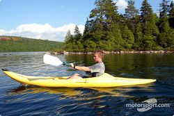 Jordan drivers training and relaxation, Hotel Sacacomie, Lake Sacacomie, Québec, Canada: Nick Heidfe