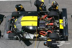SunTrust Racing pit area
