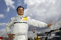 Startaufstellung: Jean Alesi, Team HWA, AMG-Mercedes C-Klasse 2004