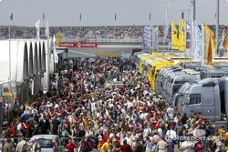 Fans at EuroSpeedway