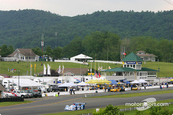 Scenic view of Connecticut countryside at Lime Rock Park