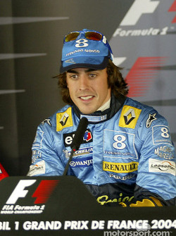 Press conference: pole winner Fernando Alonso