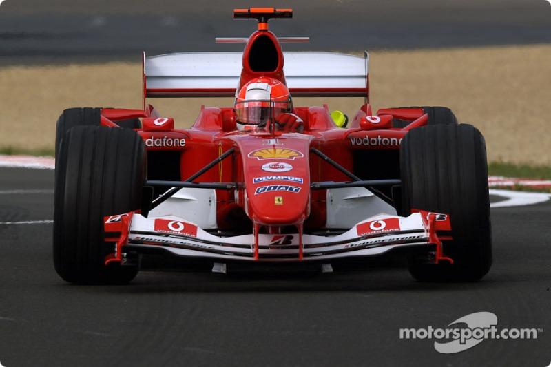 Michael Schumacher 63. alkalommal futotta meg a verseny leggyorsabb körét