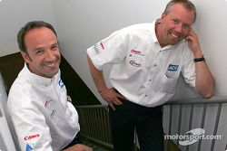 Marco Werner and JJ Lehto
