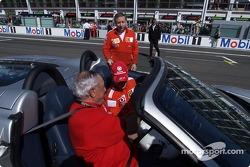 Michael Schumacher, Ferrari, mit Jean Todt