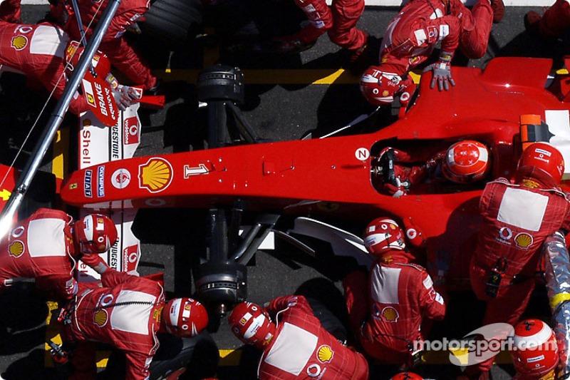 2004 Michael Schumacher, Ferrari