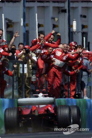 1. Michael Schumacher, Ferrari