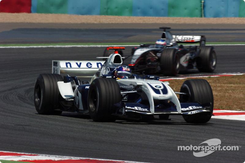 A Williams ekkor teljesítette a 450. versenyét, a sérült Ralf Schumachert pedig Marc Gené helyettesítette